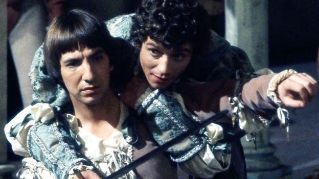 Alan Rickman in 1978's Romeo & Juliet