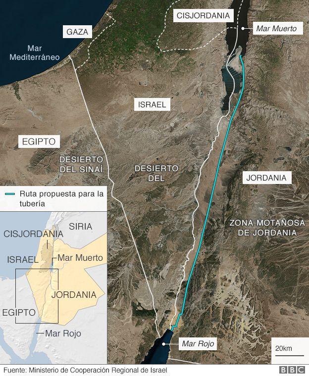 Mapa de la región