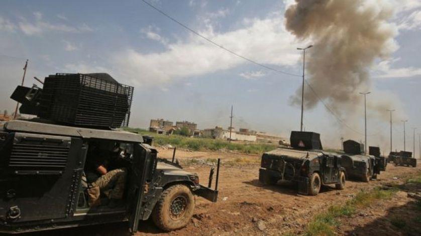 قوات عراقية تتقدم نحو منطقة الإصلاح الزراعي
