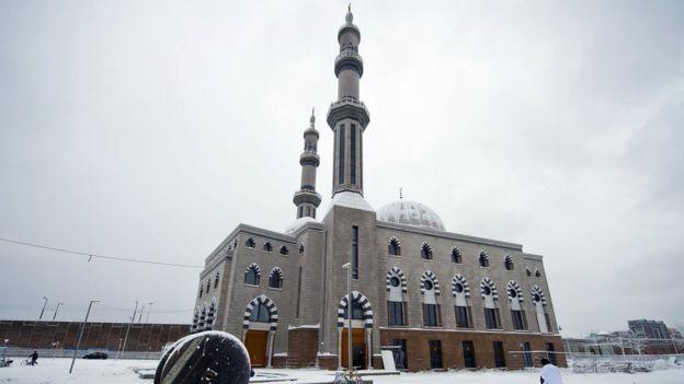 Hollanda'da bir cami