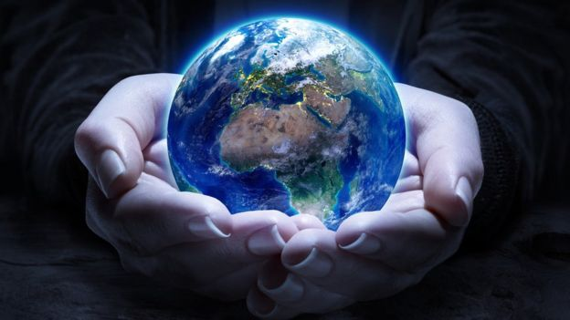 El mundo en unas manos