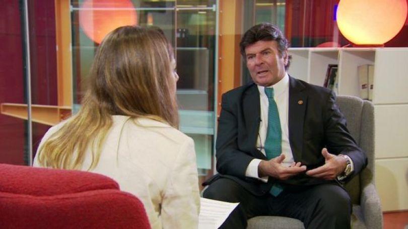 Fux em entrevista à BBC Brasil
