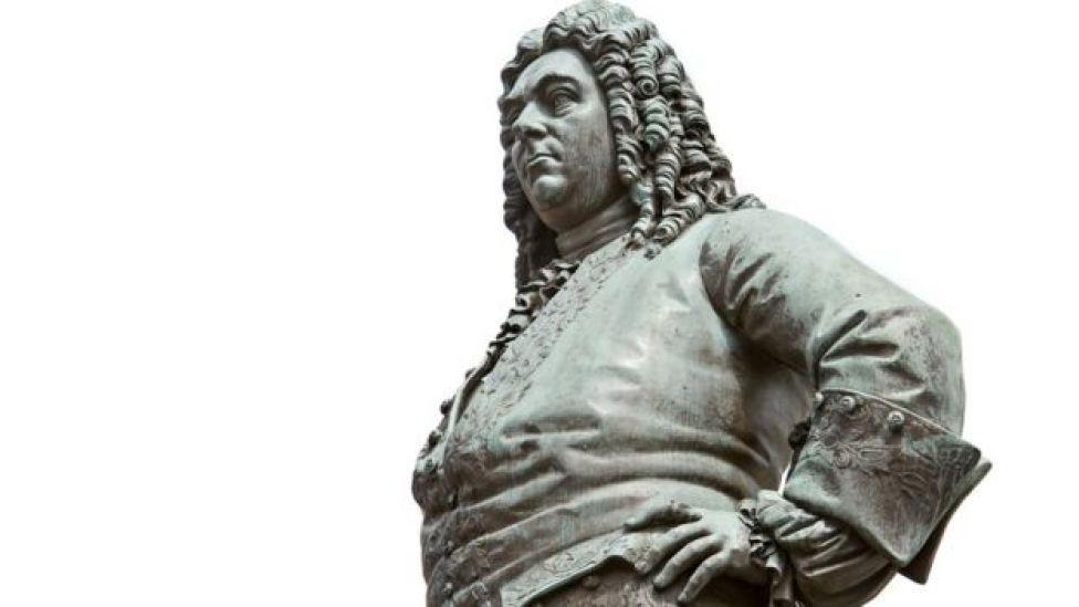 Handel estatua