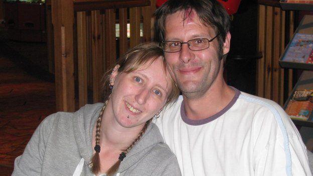 Nikki Pegram and Chris Johnston