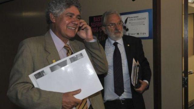 Deputados federais Chico Alencar e Ivan Valente, do PSOL