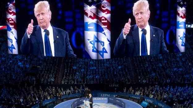 Saraakiisha Israa'iil iyo madaxweyne Al-sisi ayaa la hadlay Trump, sida muuqato.