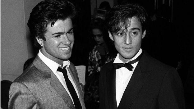 George Michael, Andrew Ridgely in 1984