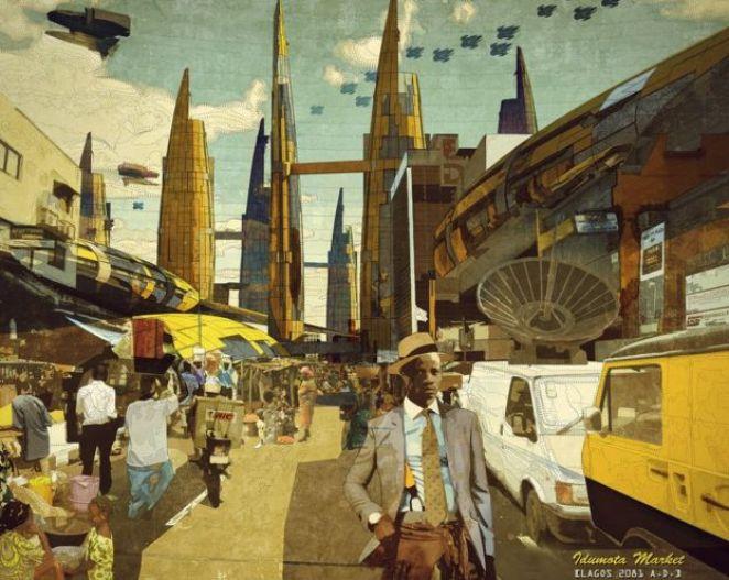 Idumota Market, Lagos 2081 A.D