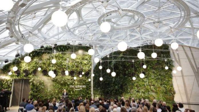 Las Ssferas de Amazon.