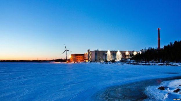 Centro de data de Google en Finlandia