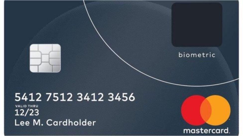 image graphique de la Mastercard biométrique