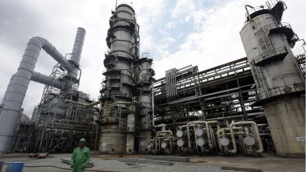 Port Harcourt oil refinery
