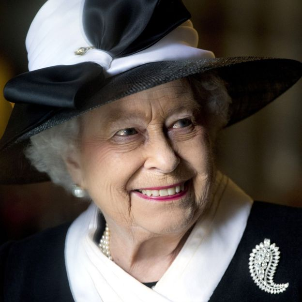 Queen Elizabeth II attending a Service of Commemoration at Westminster Abbey to mark the centenary of the Gallipoli campaign and Anzac Day.