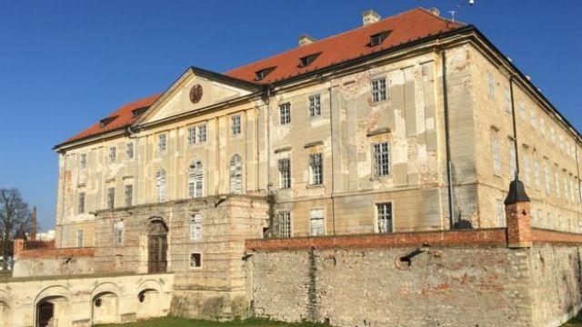 Castillo de Holíč, Eslovaquia.