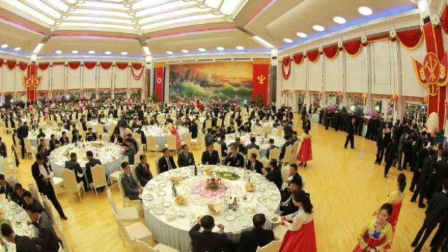 Banquete de Kim Jong-un