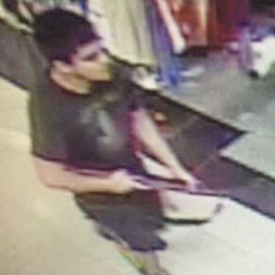 Sospechoso del tiroteo en el centro comercial.