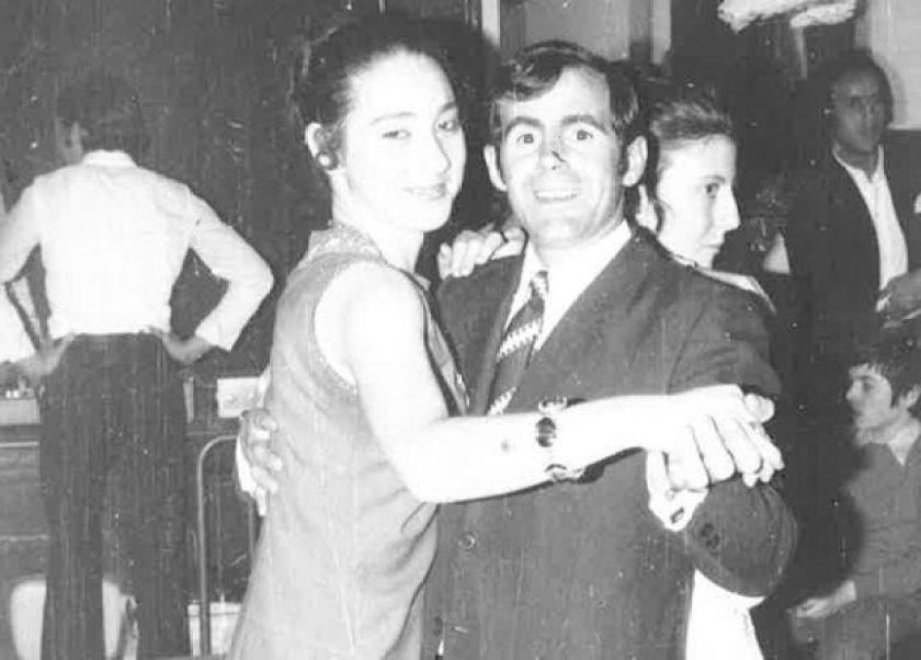 Daniele Henkel gençliğinde dans ederken