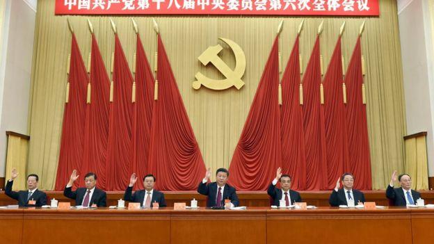 Thông cáo Hội nghị Trung ương 6 của Đảng Cộng sản Trung Quốc khẳng định ông Tập Cận Bình là