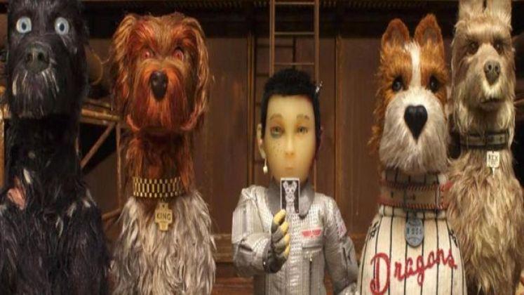 """مشهد من فيلم """"جزيرة الكلاب"""""""