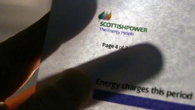 Scottish Power bill