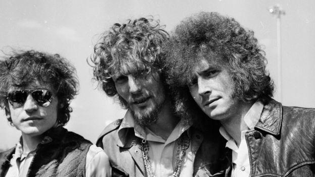 Cream (Eric Clapton a la derecha)