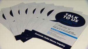 Scottish Child Abuse Inquiry leaflet