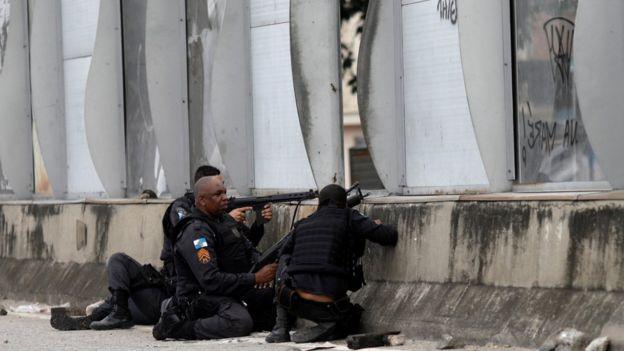 Policiais militares do Rio