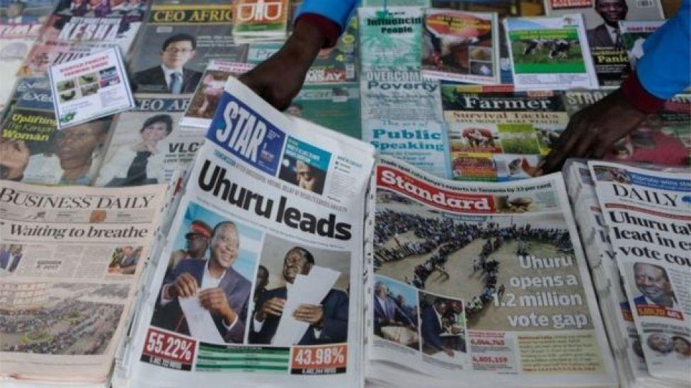 Wednesday's headlines