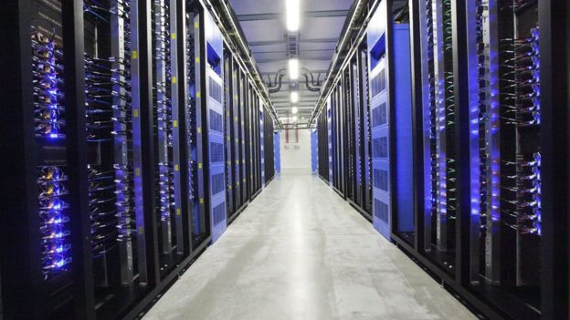 Facebook data centre