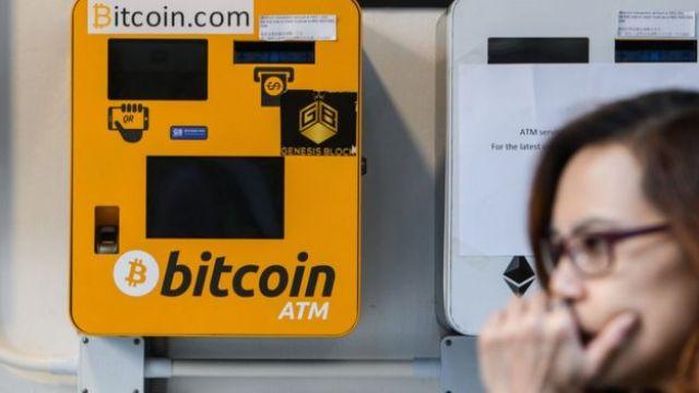 Cajeros de bitcoins.
