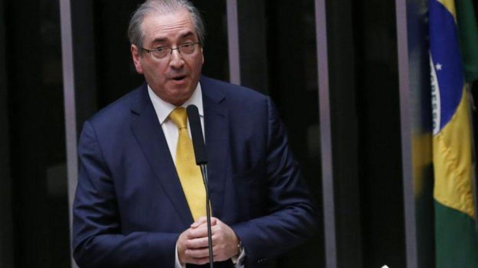 Eduardo Cunha discursa no Congresso