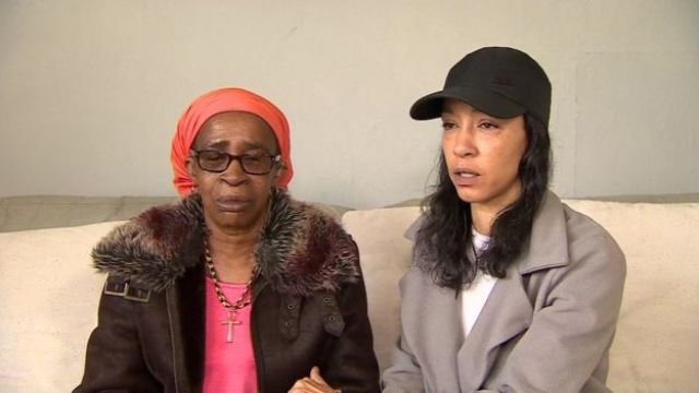 Paulette Wilson alongside her daughter Natalie