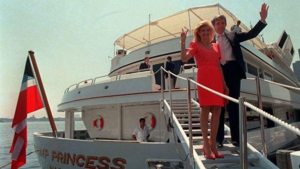 Donald e Ivana Trump