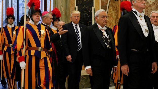 Donald Trump at the Vatican