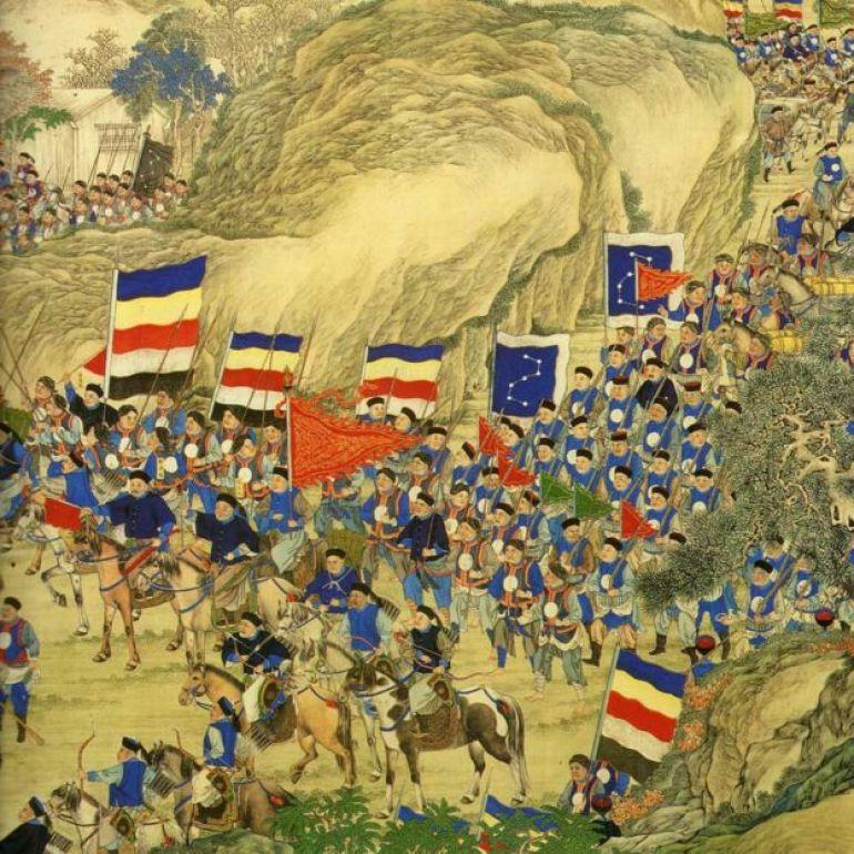 Pintura de la rebelión Taiping