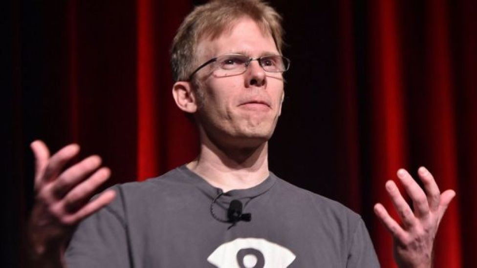 John Carmack is accused of taking intellectual property with him after he left iD Software