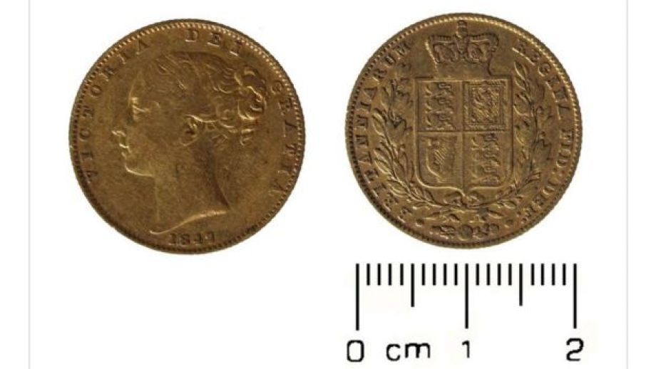 The oldest coin in the hoard