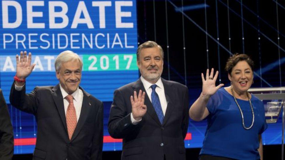 Candidatos elecciones Chile