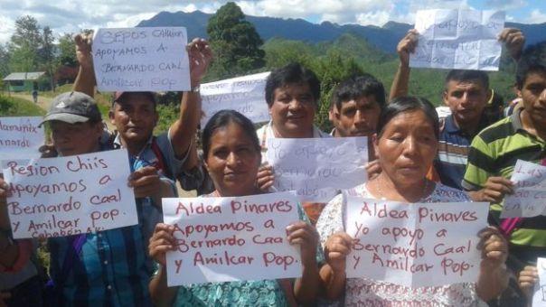 Protestas indígenas
