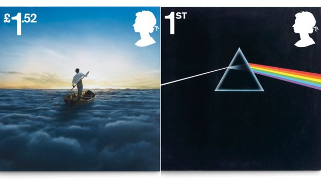 Royal Mail unveils stamps to mark 50 years of Pink Floyd