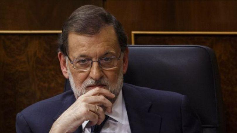 O presidente da Espanha, Mariano Rajoy.