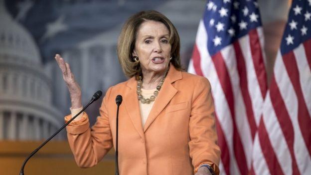 US House Minority Leader Nancy Pelosi