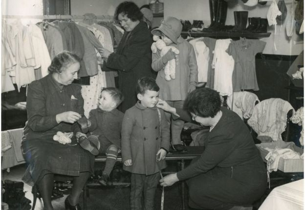 Image result for ww2 children evacuation women's voluntary services