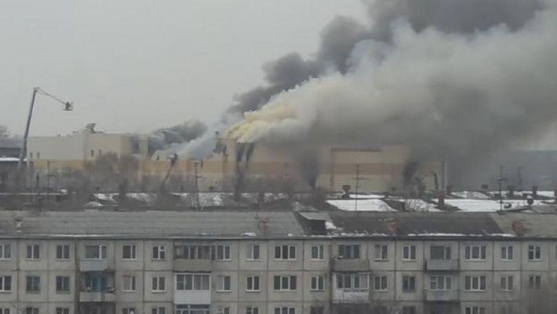 Incêndio no shopping de Kemerovo