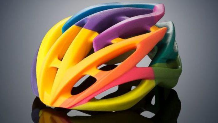 Stratasys 3D printed helmet