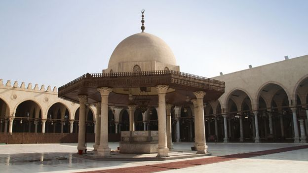 Mosque of Amr ibn al-As in Fustat