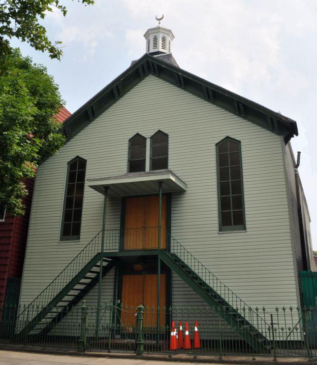 The Tatar mosque in Brooklyn