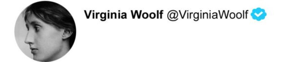 Twitter Virginia Woolf