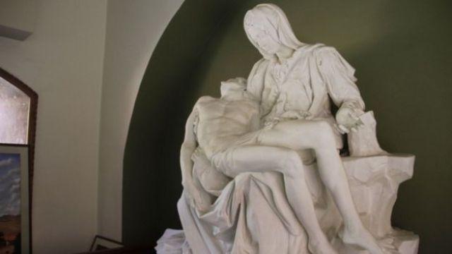 """""""La Piedad"""" de Miguel Ángel"""