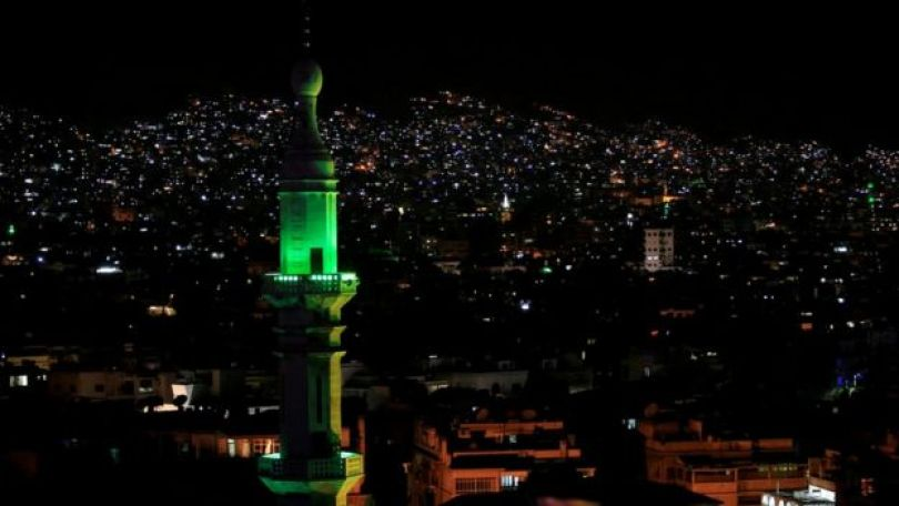 A capital da Síria, Damasco